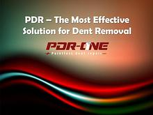 PDR – The Most Effective Solution for Dent Removal