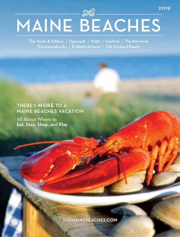 The Maine Beaches Visitor Guide 2019 Visitor's Guide to The Maine Beaches