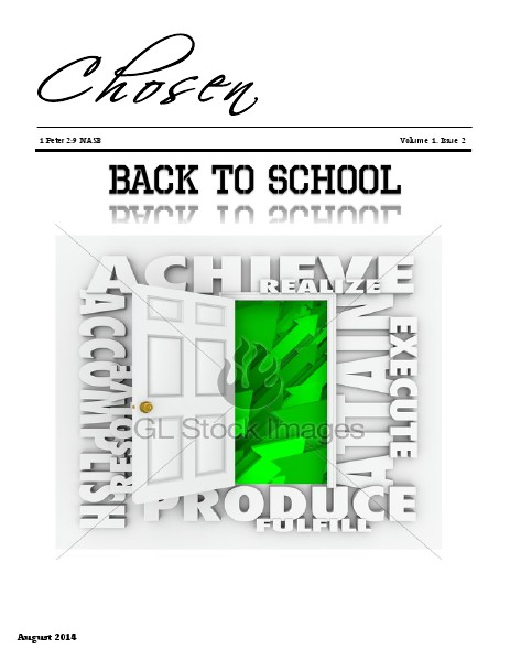 Chosen Volume 1 Issue 2 August 2014