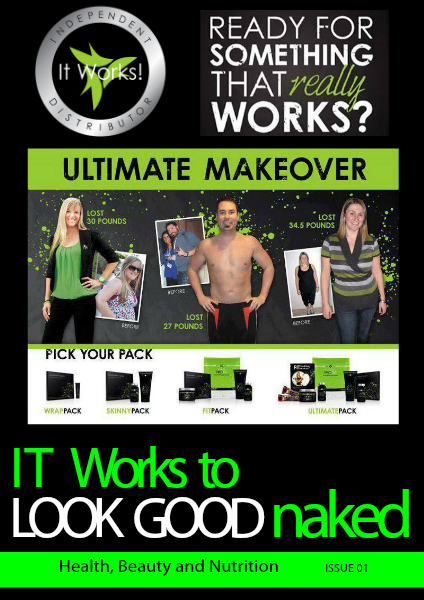 It Works to LOOK GOOD naked Issue 1
