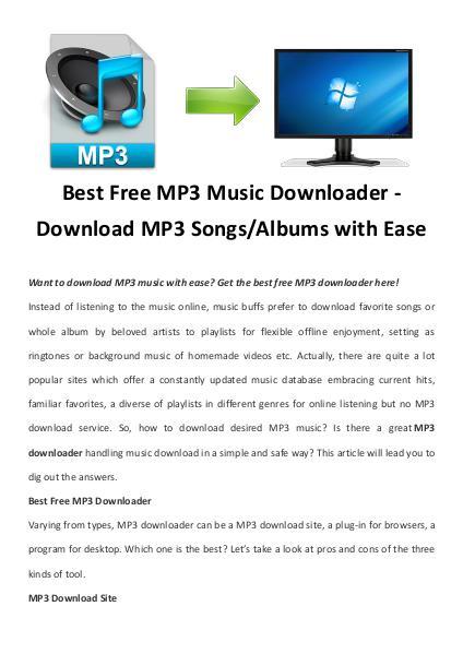Multimedia Software MP3 Downloader