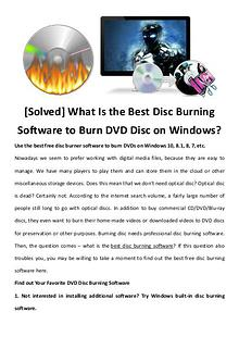 multimedia software tipsBest Fast AVI Joiner to Join Multiple AVI Fil [Solved] What Is the Best Disc Burning Software to Burn DVD Disc on W