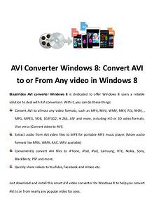 multimedia software tipsBest Fast AVI Joiner to Join Multiple AVI Fil