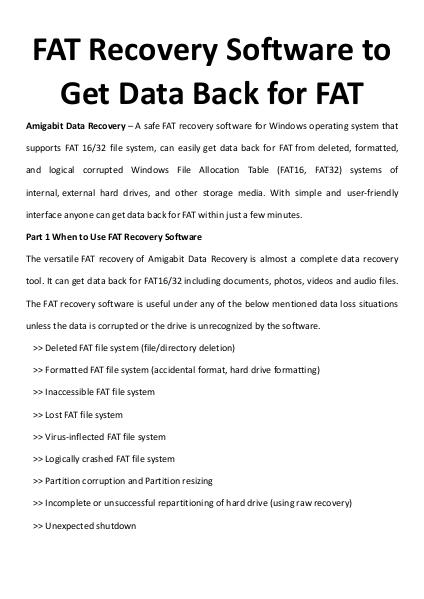 multimedia software tipsBest Fast AVI Joiner to Join Multiple AVI Fil FAT Recovery Software to Get Data Back for FAT