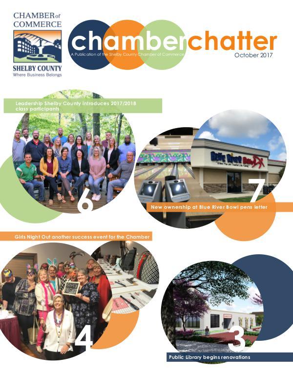 October 2017 Chamber Chatter October 2017 Chamber Chatter