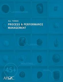 All Things Process & Performance Management