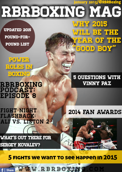 RBRBoxing Magazine Issue 1 - January 2015