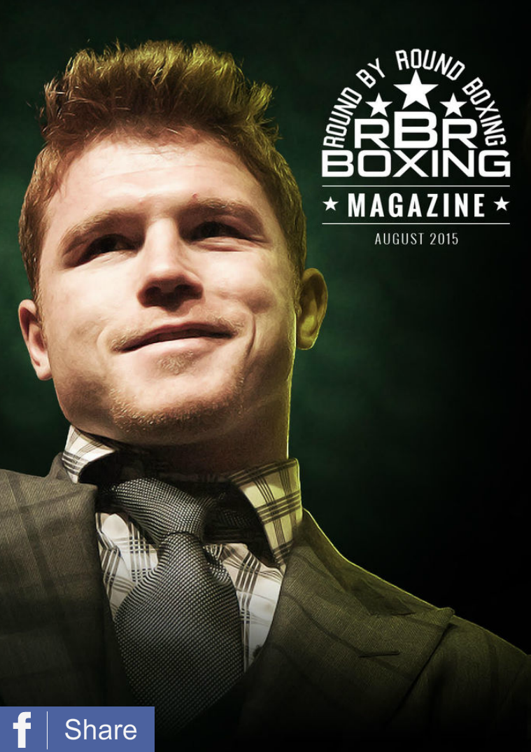 RBRBoxing Magazine - Slim Edition Issue 3 Slim Edition - August 2015