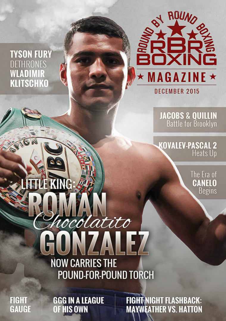 RBRBoxing Magazine Issue 4 Deluxe Edition - December 2015