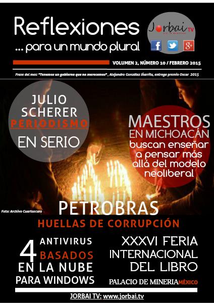 Reflexiones Volumen 2, número 10 Febrero 2015