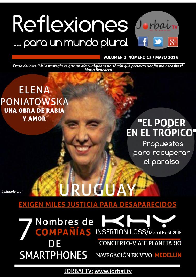 Reflexiones Volumen 2, número 13 Mayo 2015