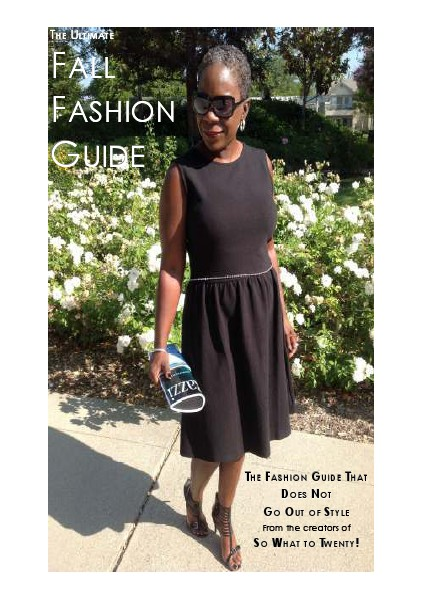 The Ultimate Fall Fashion Guide August 2014