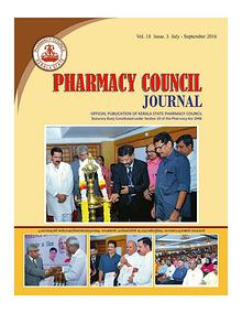 Pharmacy Council Journal July- Sept 2016