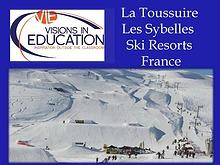 Les Sybelles La Toussuire France