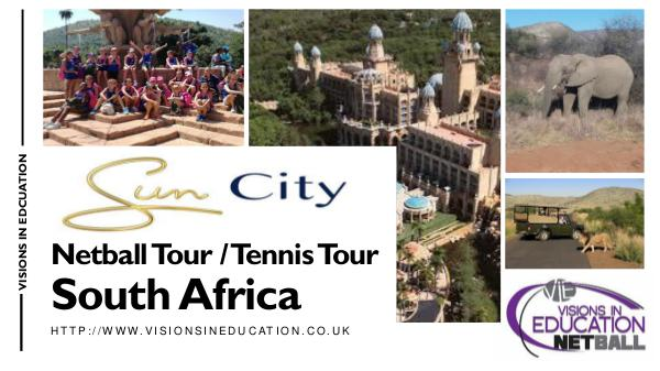 Sun City South Africa Netball and Tennis Tour NETBALL & TENNIS TOUR 12PG.pptx