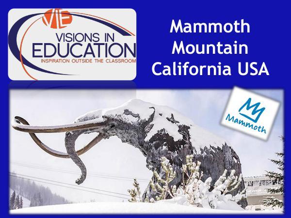Mammoth Mountain Ski Resort, California USA Mammoth Mountain PP 070319 (1)