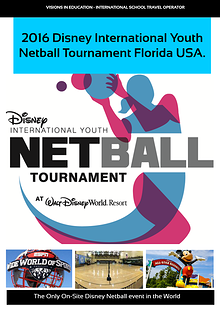 Disney International Youth Netball Tournament