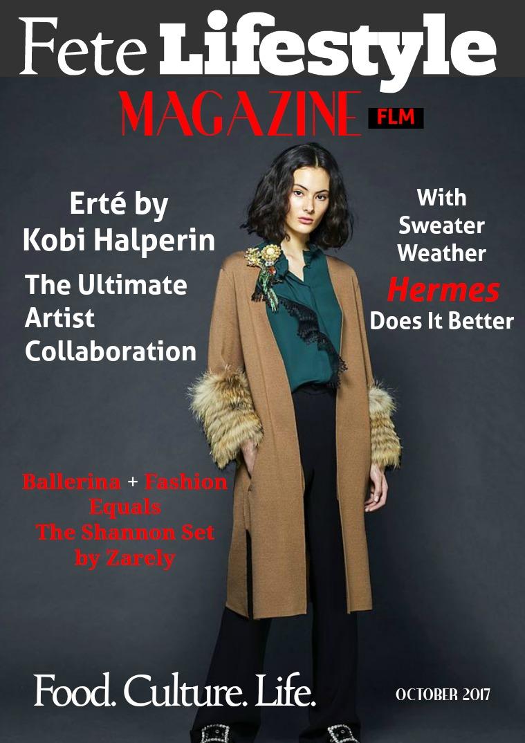 Fete Lifestyle Magazine October 2017 Fall Fashion