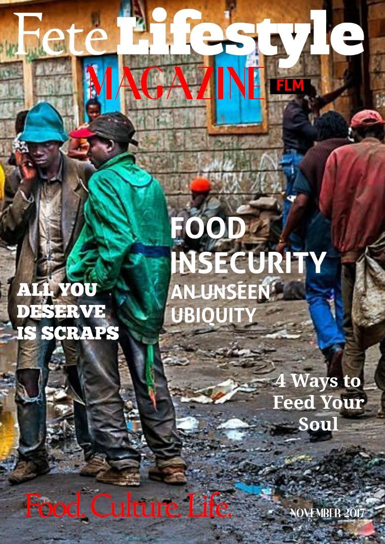 Fete Lifestyle Magazine November 2017 Food Issue