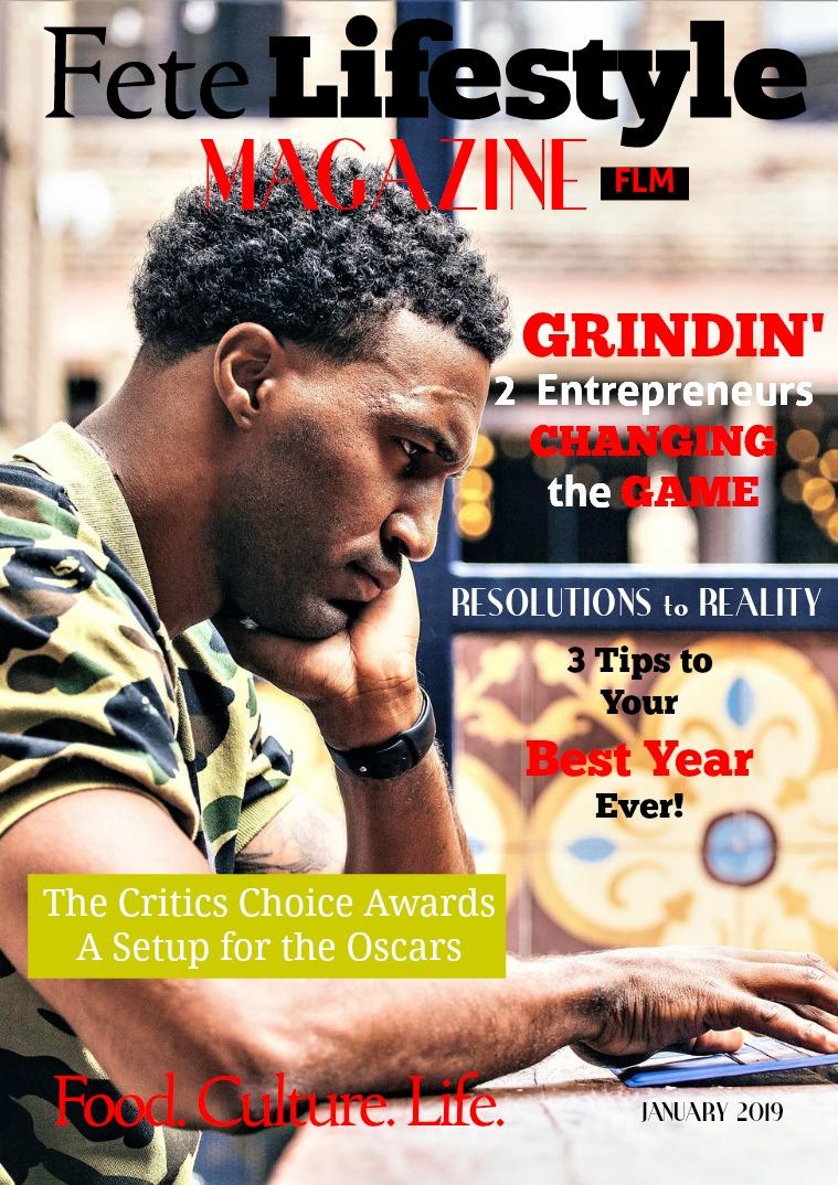 Fete Lifestyle Magazine January 2019 - Success Issue