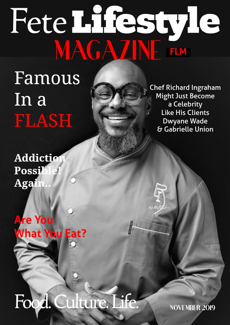 Fete Lifestyle Magazine November 2019 - Food Issue