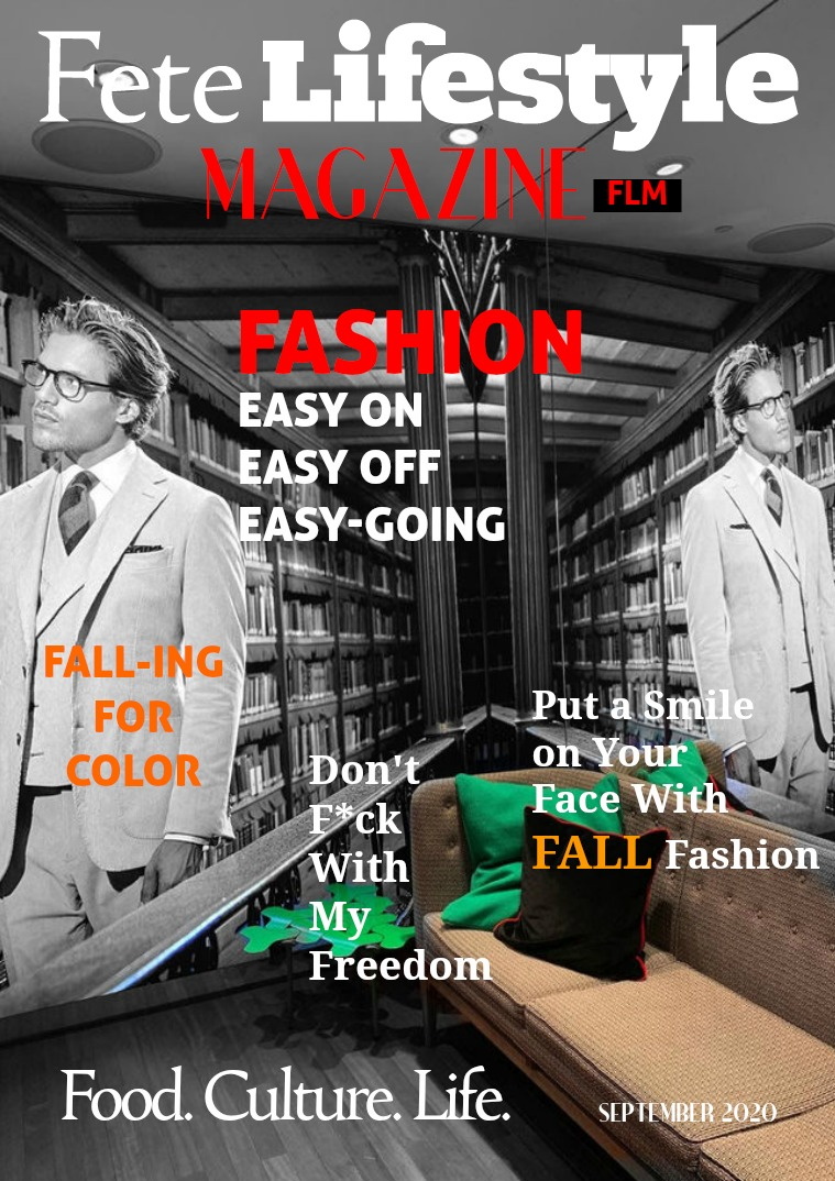 September 2020 - Fall Fashion