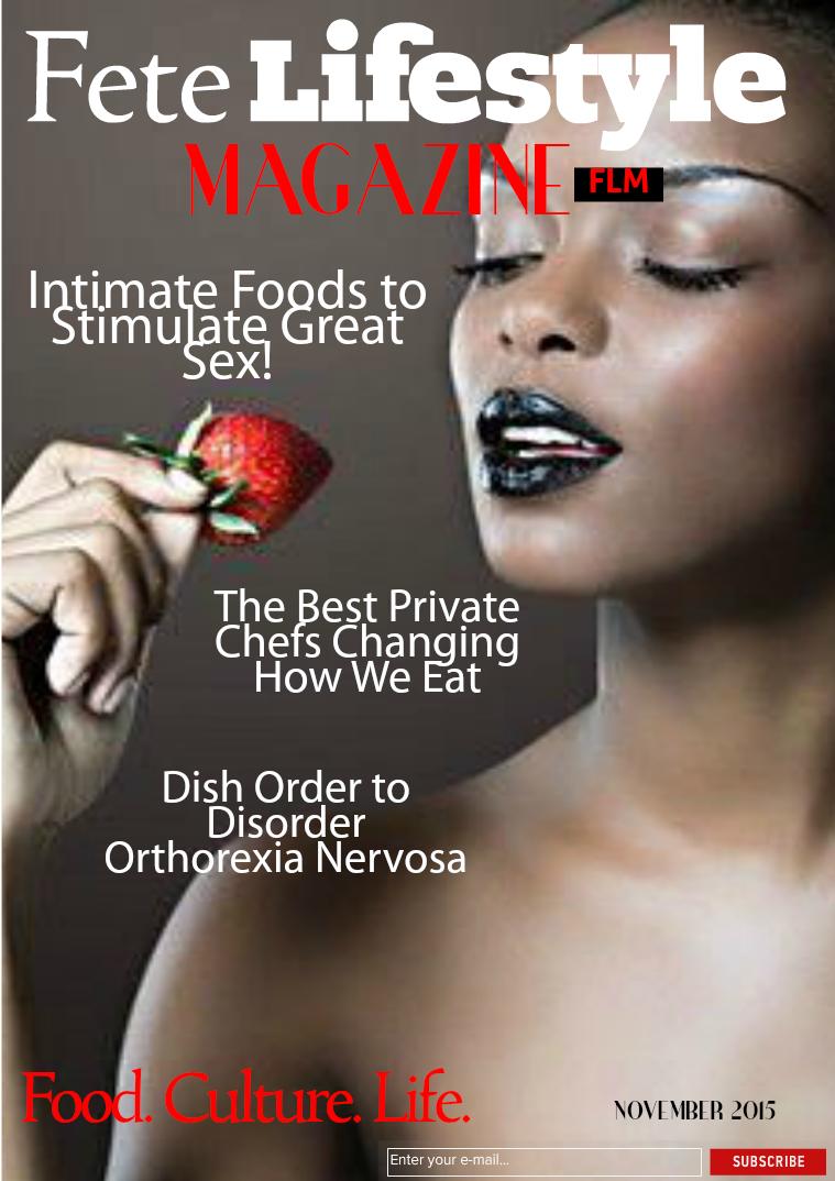 Fete Lifestyle Magazine November 2015