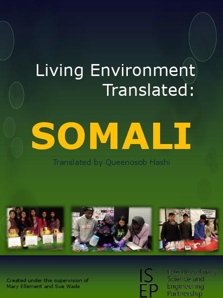 Living Environment Translated Somali 2014