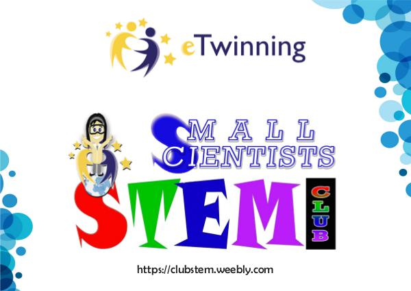 Small Scientists : STEM CLUB c1ec41c9