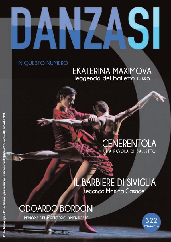 Anteprima DanzaSì n. 322 febbraio 2018
