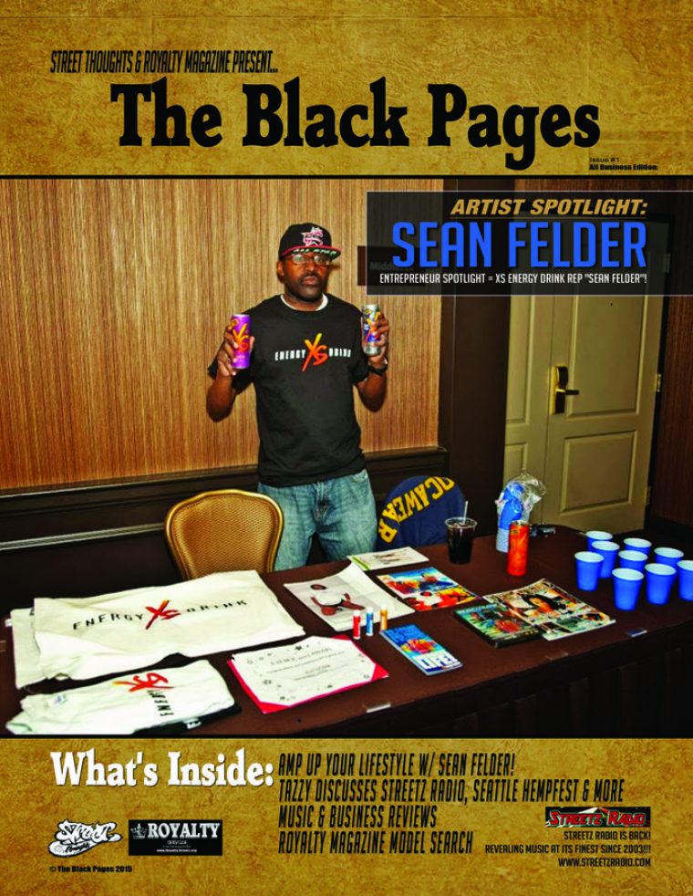 The Black Pages Magazine July 2015