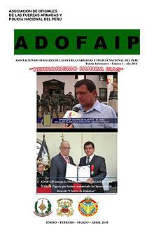 Boletín ADOFAIP N 1 - 2018