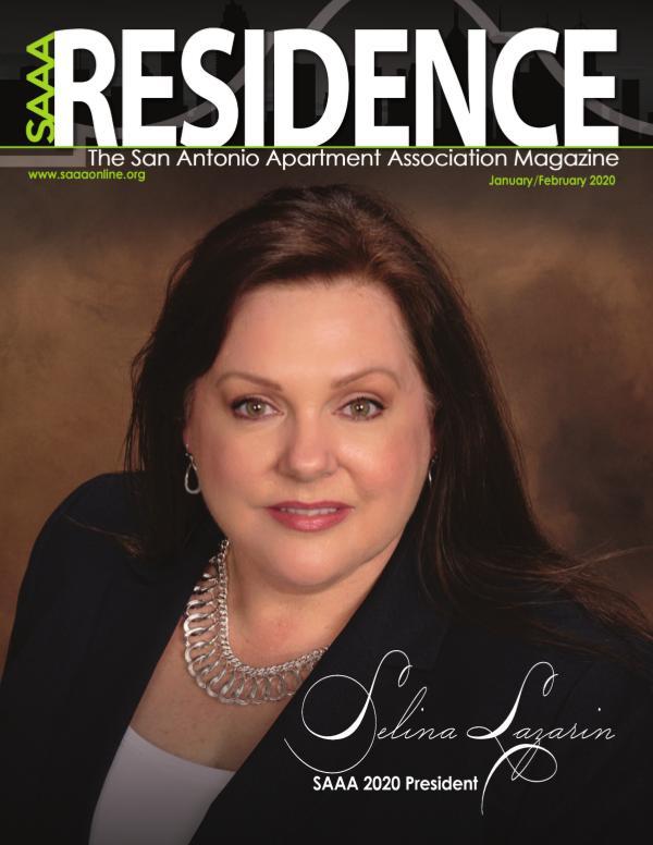 SAAA January/February 2020 Residence Magazine 43166 Residence JaFe20_Proof