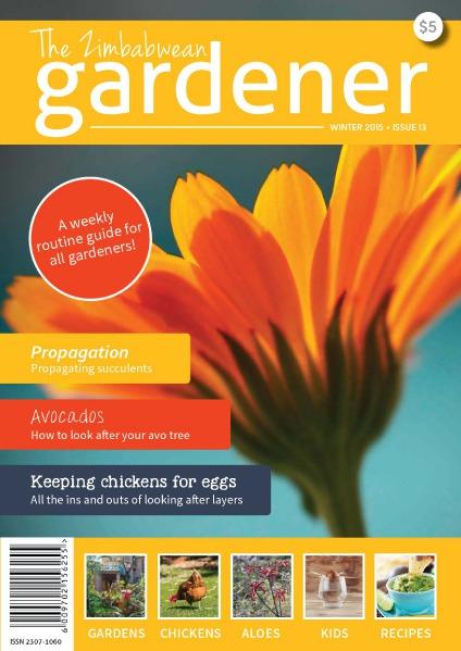 The Zimbabwean Gardener Issue 13 Winter 2015 Low res