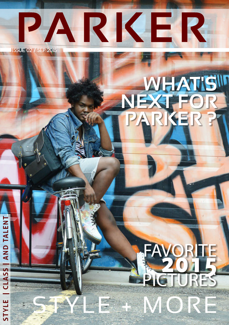 Parker XL September Issue 2015