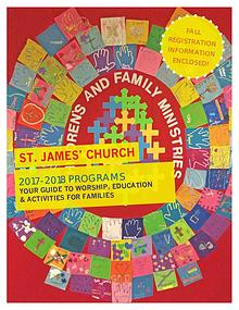 Children's & Family Ministries brochure