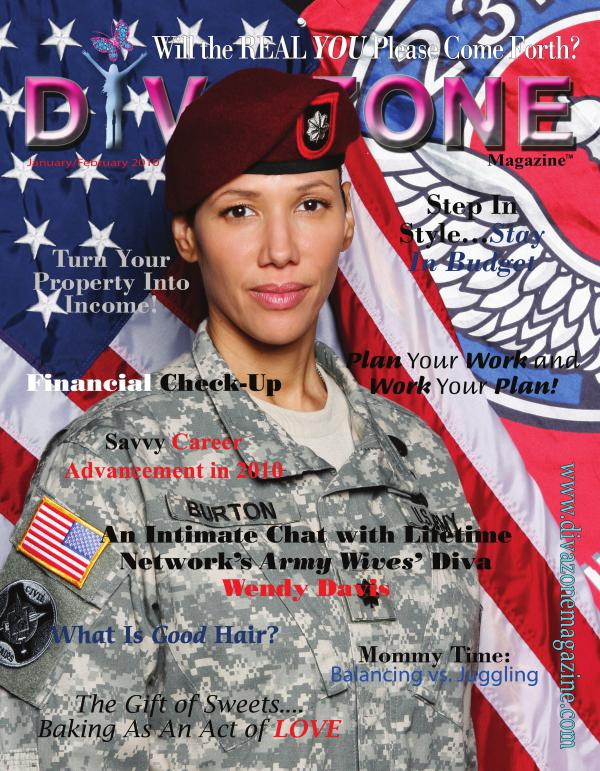 Diva Zone ™ Magazine DIVA SWAGGER ISSUE - Army Women and Pastor Jerry S