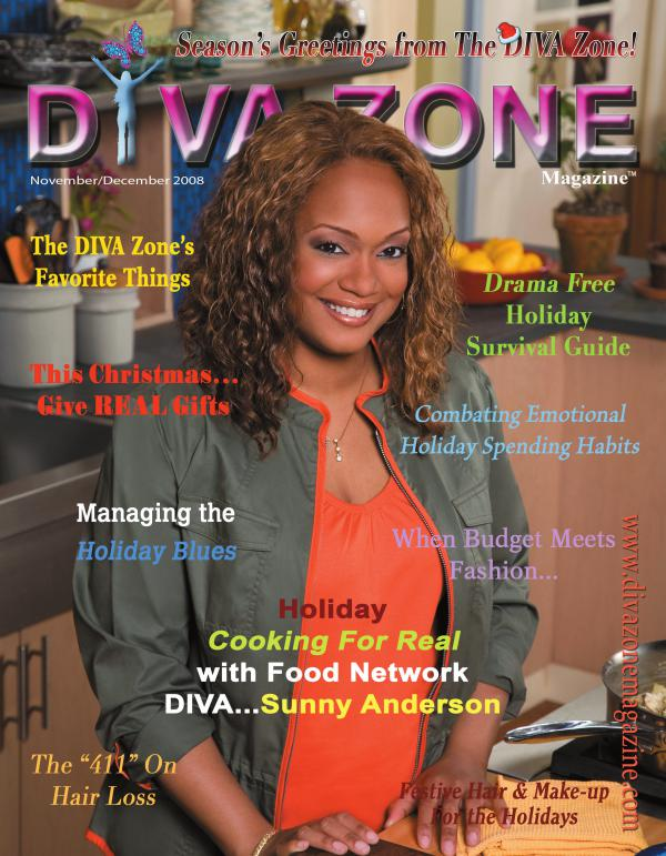 Christmas Holiday Issue - Sunny Anderson - The DIV