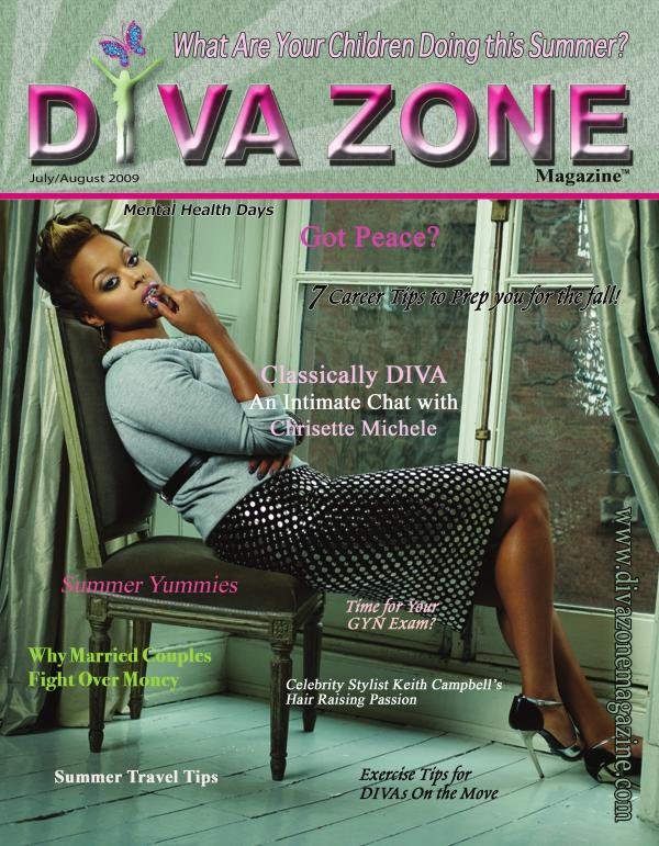 DIVA SWAGGER ISSUE - Chrisette Michelle - July Aug