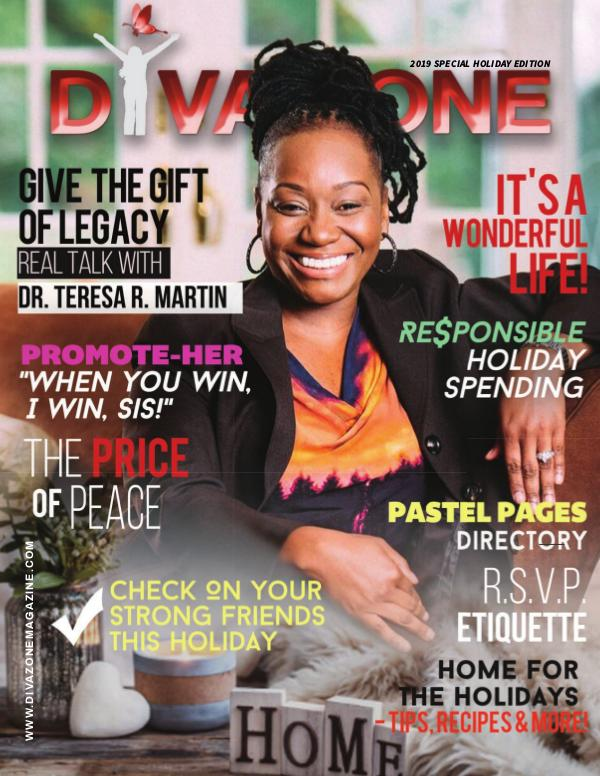 Diva Zone ™ Magazine 2019 Holiday Issue - The DIVA Zone Magazine