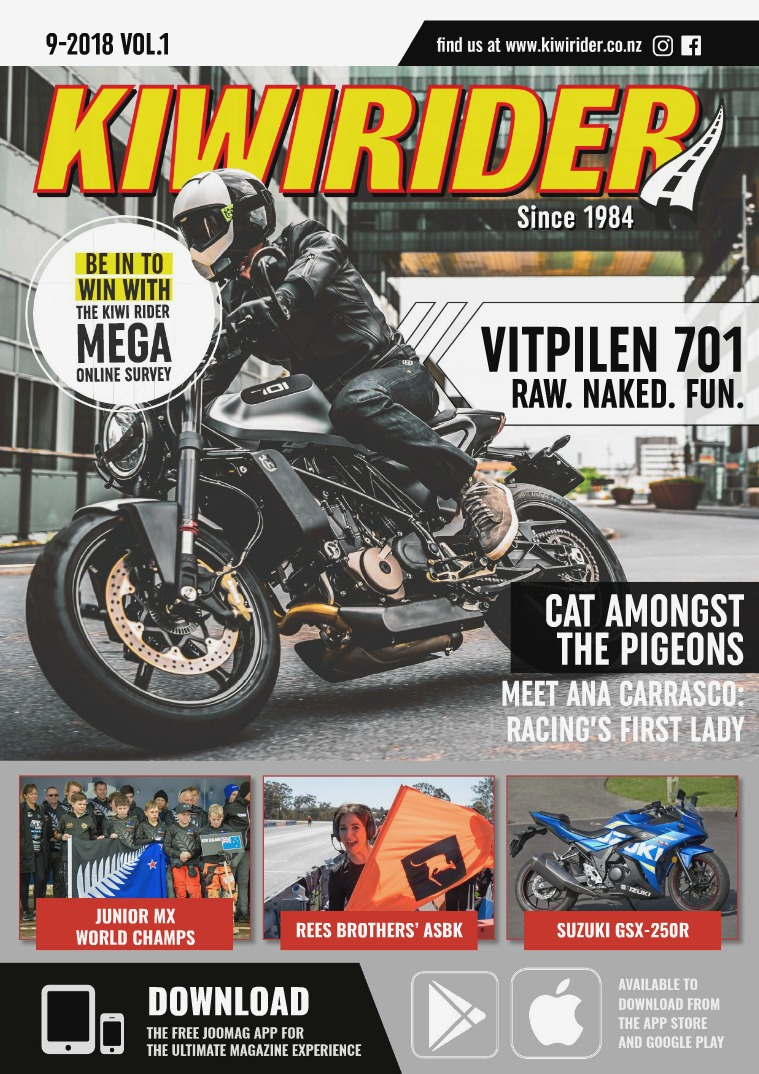 KIWI RIDER 09 2018 VOL.1