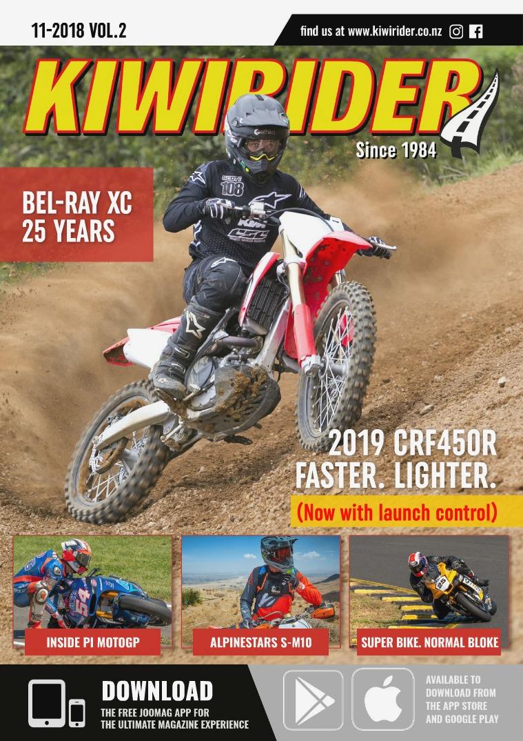 KIWI RIDER 11 2018 VOL.2