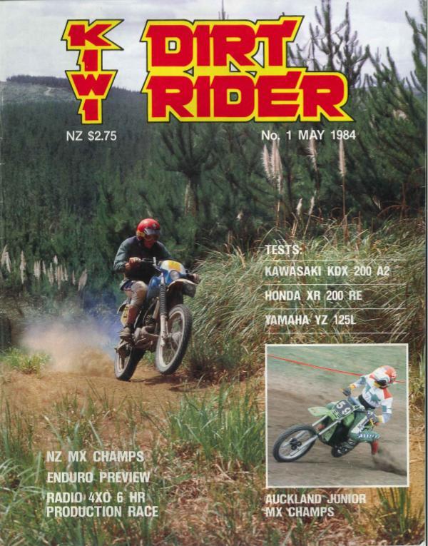KIWI RIDER ISSUE 1