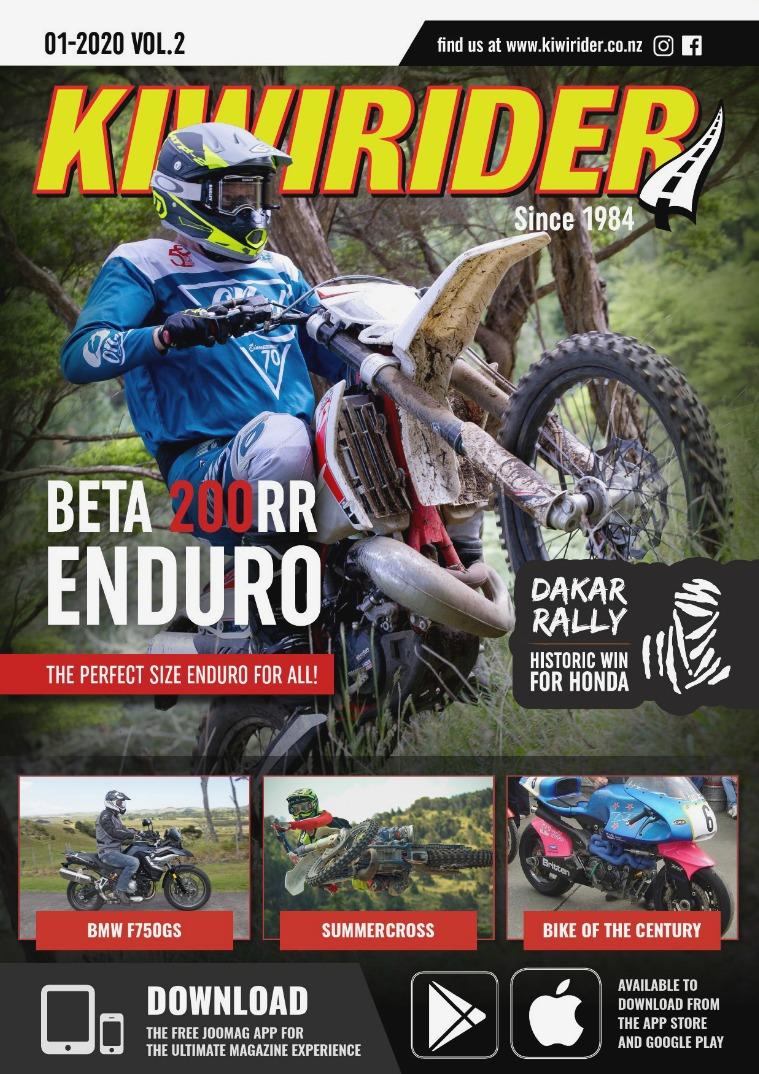 KIWI RIDER 01 2020 VOL2