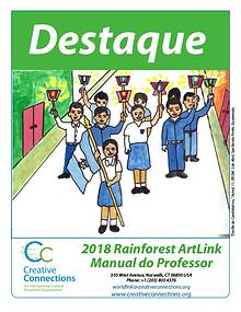 2018 Rainforest ArtLink Manual do Professor