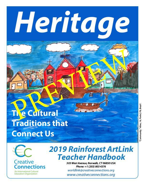2019 RainForest ArtLink Teacher's Guidelines PREVIEW 2019 PREVIEW+Rainforest+ArtLink+English