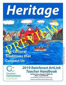 2019 RainForest ArtLink Teacher's Guidelines PREVIEW