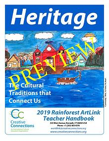 2019 RainForest ArtLink Teacher's Guidelines PREVIEW