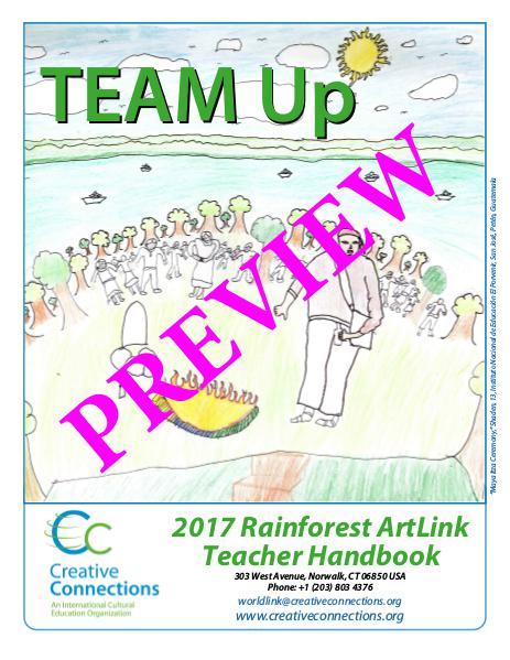 2017 Rainforest ArtLink Teacher Guidelines PREVIEW 2017 Rainforest ArtLink Teacher Handbook PREVIEW