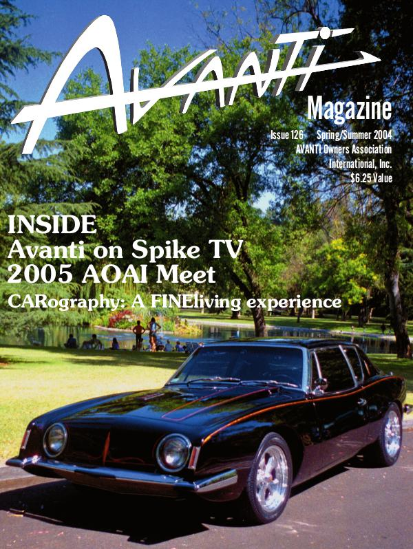 Avanti Magazine Spring/Summer 2004 #126